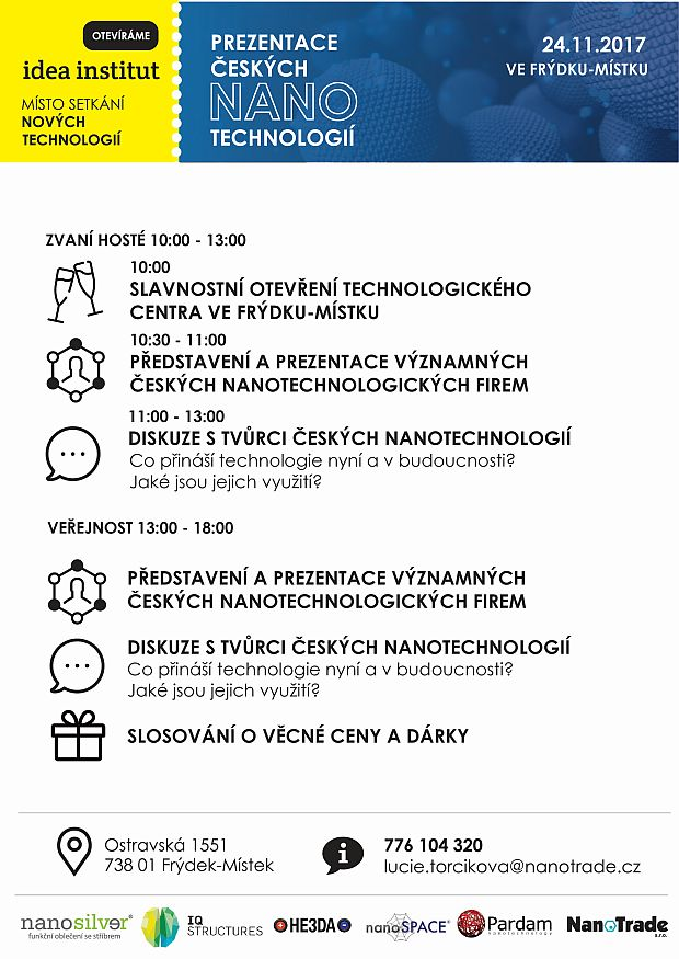 Program otevreni idea institut listopad 2017